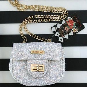 Glitter mini Crossbody w/ FREE cute Surprise Gift